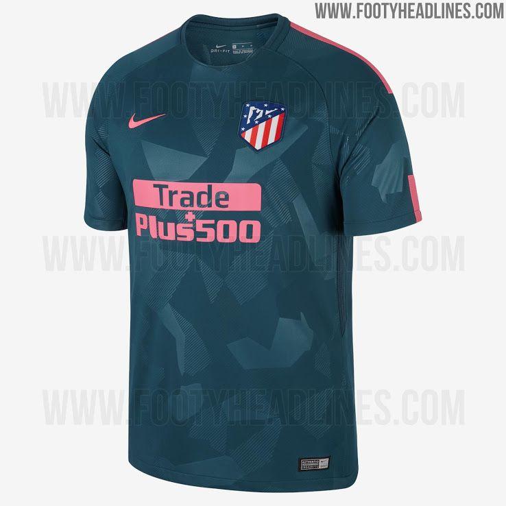 Nike Atlético Madrid 17-18 Third Kit Released - Footy Headlines Football  Shirts e604f3a92