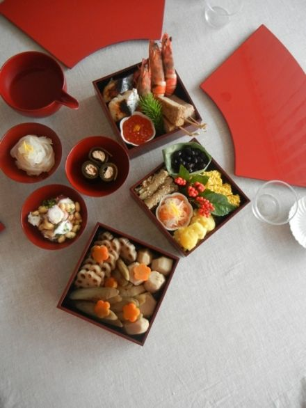 "japanese new year ceremonial meal ""osechi"""