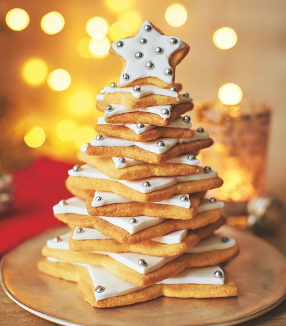 Shortbread Christmas Tree Kit Asda Christmas Treats Christmas