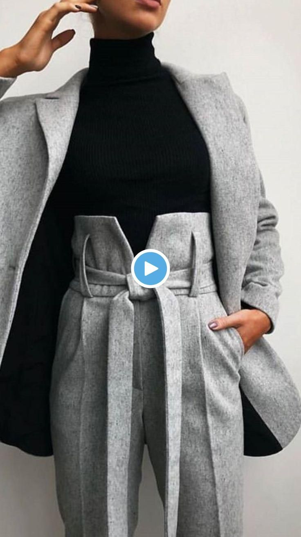 Nouvelles idées de mode féminine 2019#modehivernalecuissarde #modehivernalejupe #modehivernalemanteau #robemodehivernale