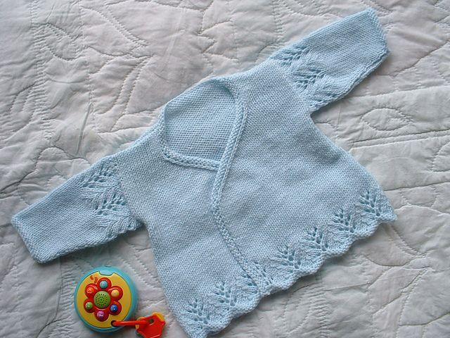 Ravelry Babys Wrapover Coats Pattern By Watmoughs Knitting Studio