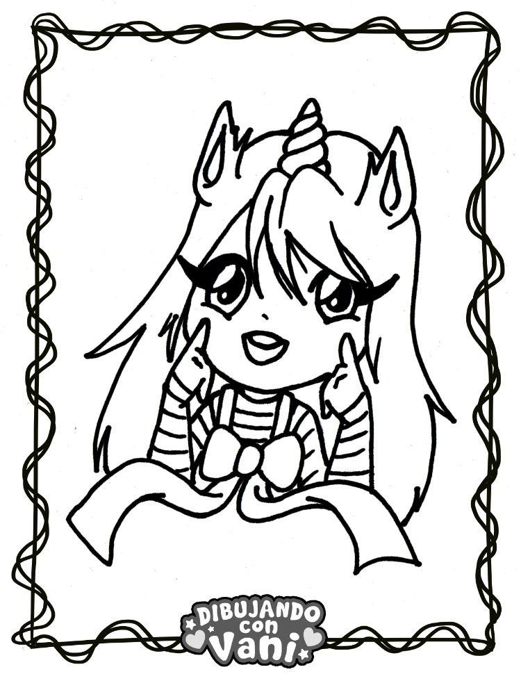 Nina Unicornio Kawaii Como Dibujar Ninos Dibujos Kawaii Dibujos De Anime