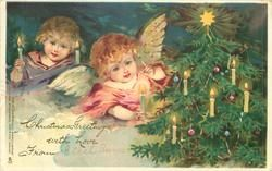 angels & Christmas tree