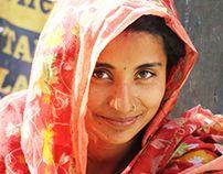 Hidden Faces -  Photos Taken from a slum