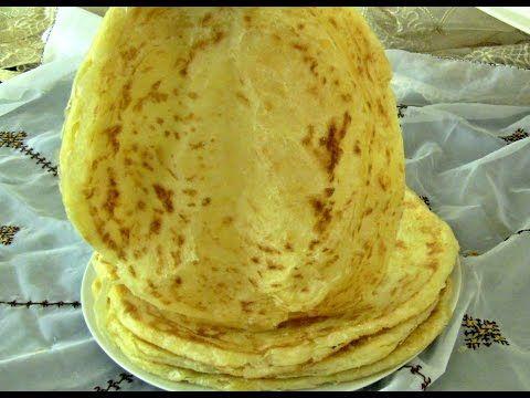 الفطير المشلتت بالطريقة المغربية روعة Youtube Arabic Food Bread And Pastries Recipes