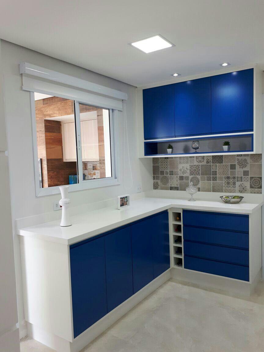 Cozinha branco brilhante e laca azul fosco meus jobs pinterest