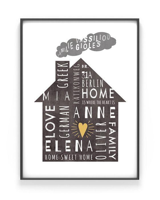 home sweet home diy geschenk einzug diy geschenke. Black Bedroom Furniture Sets. Home Design Ideas