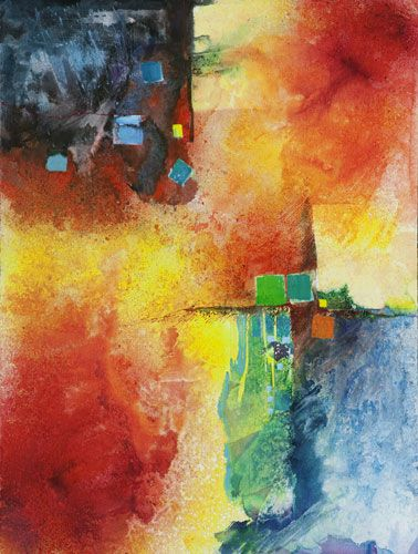 Watercolor Abstraction Puts Fun And Freedom In Your Art