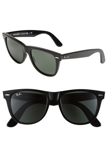 be49ca07c0 Free shipping and returns on Ray-Ban  Classic Wayfarer XL  54mm Sunglasses  at Nordstrom.com. Silvertone logo styles a slightly oversized version of  classic ...