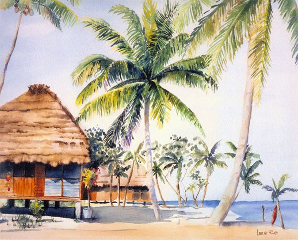 717d43719c78ffbcde960480d6384fe4 Painting Old Hawaiian Plantation House on old chinese house paintings, farm paintings, plantation homes acrylic canvas paintings, scenic country landscape paintings,