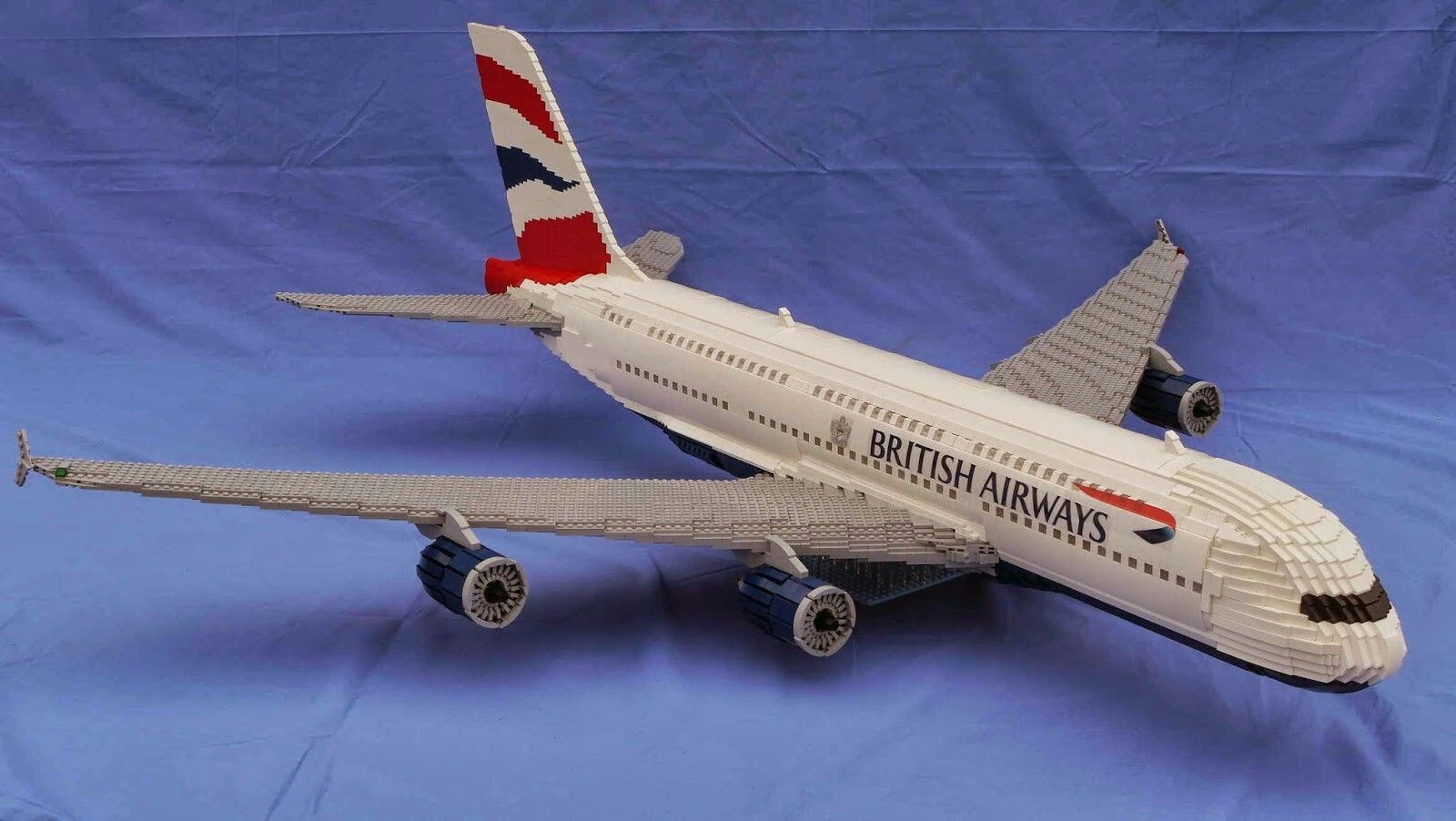 Lego British Airways Airbus A380 Lego Planes Pinterest British