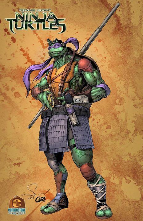 donatello teenage mutant ninja turtles colors by cadre on