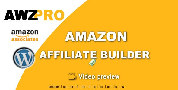 Awzpro - Amazon Affiliate Builder #cms #scripts #bootstrap #free