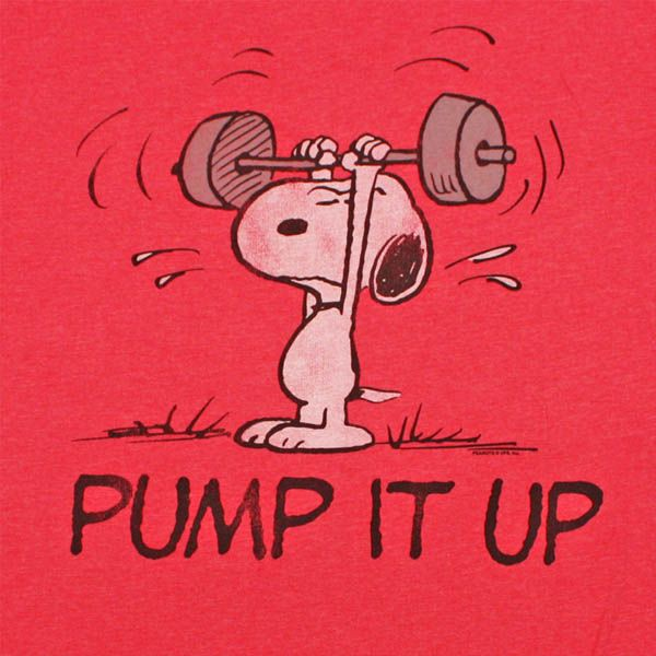 Even Snoopy lifts. #Fitspiration for all our furry friends out there!
