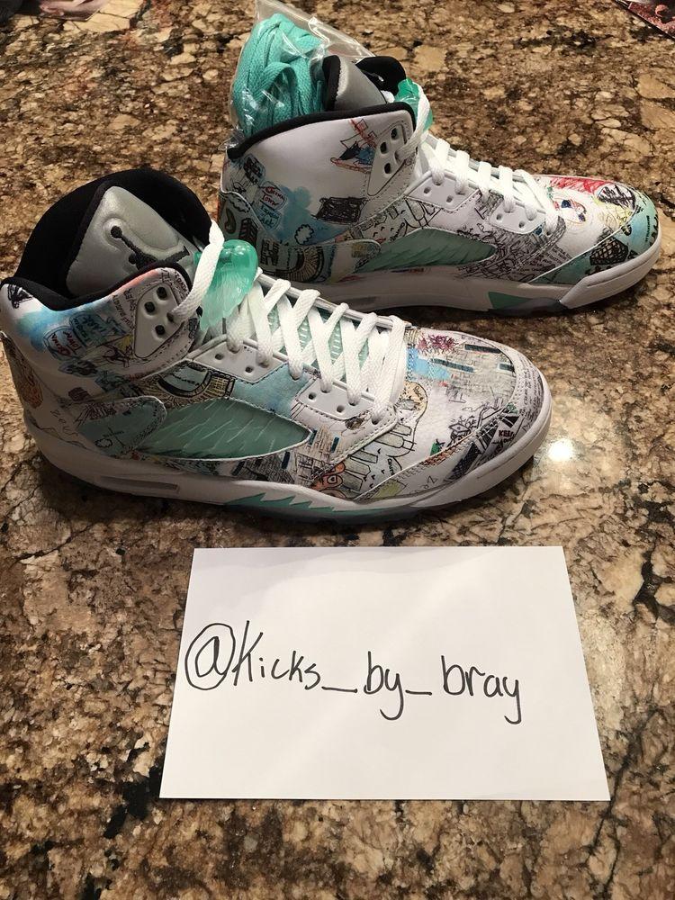 sports shoes 86474 f40dd Nike Air Jordan 5 Wings Size 10.5 #fashion #clothing #shoes ...