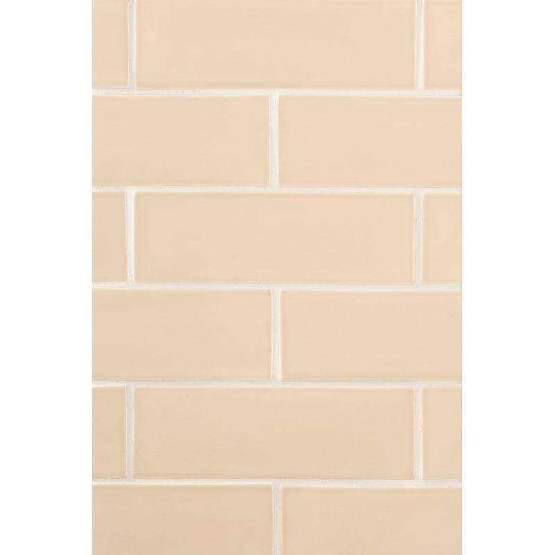Honey Glossy Ceramic Tiles 3x9 Country Floors Of America Llc In 2020 Ceramic Tiles Tiles Glossy