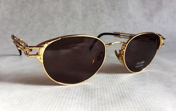 cb40924282c Jean-Paul GAULTIER 56 - 4177 Vintage Sunglasses New Unworn Deadstock with  Softcase and Adjustable Temple Design