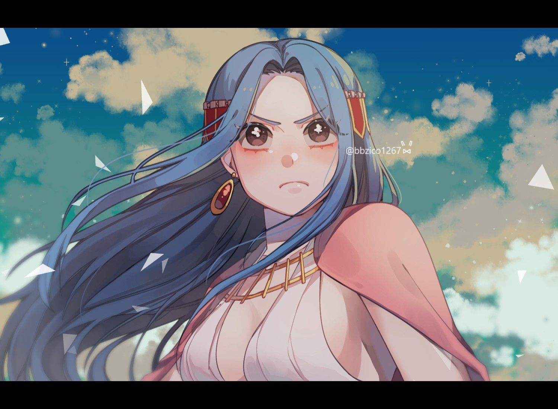 Nefertari Vivi One Piece One Piece Fanart One Piece Images