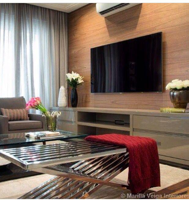 Interior Design Ideas For Home Theater: Pin De Gabi Ribeiro Em Sala De Estar