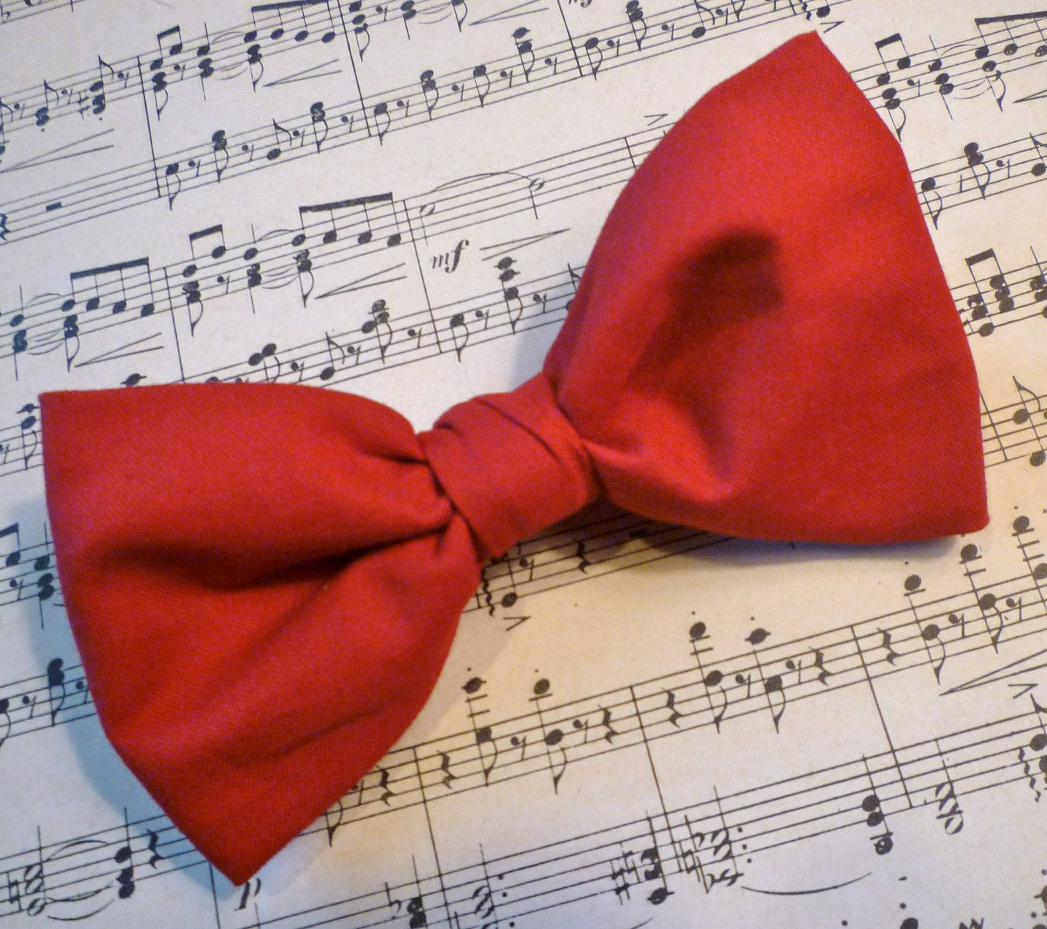 Red Bow Tie Man S Clip On 16 00 Via Etsy Red Bow Tie Clip On Bow Ties Mens Bow Ties