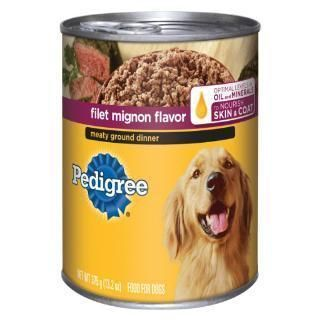 Pedigree Traditional Ground Dinner With Filet Mignon 12 13 2z