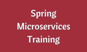 Spring Boot Microservices Training Online Spring Course Learntek Business Logic Java Programming Tutorials Spring Framework