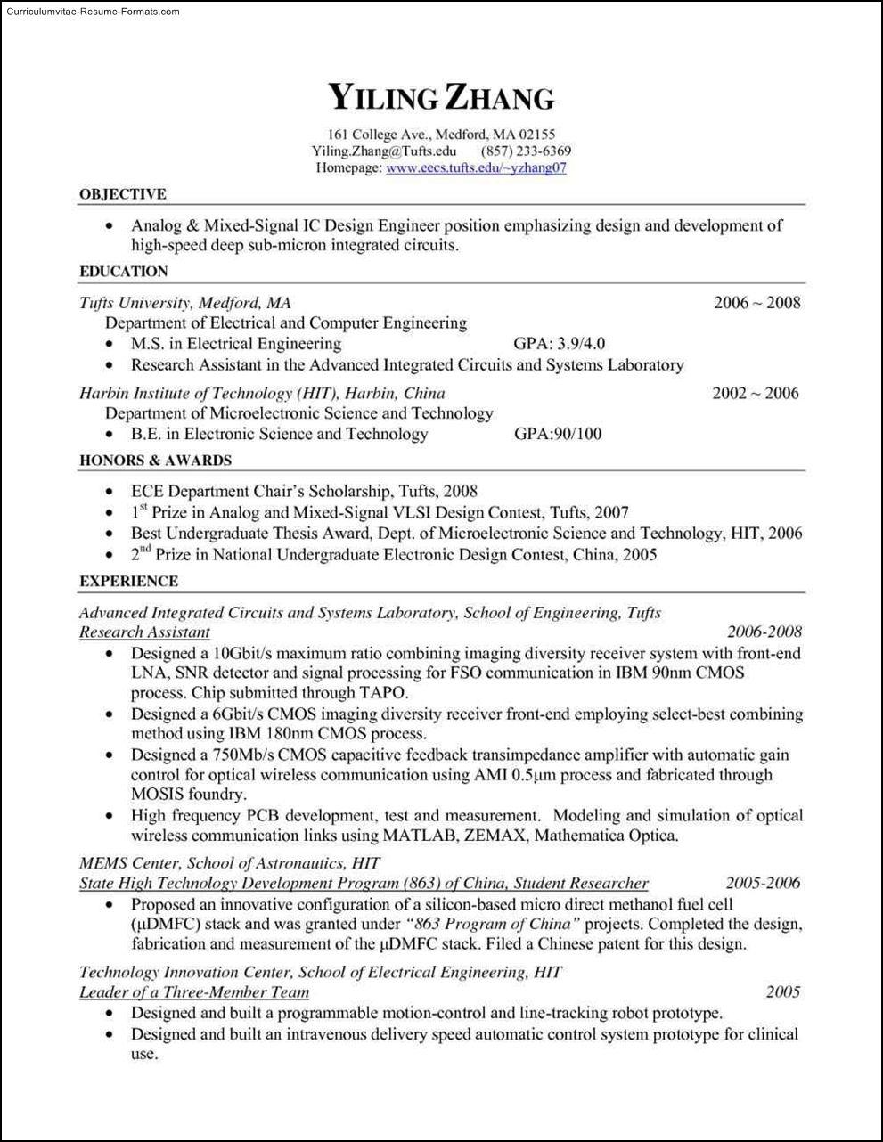 Free Resume Templates Pdf Free Samples Examples Format Resume