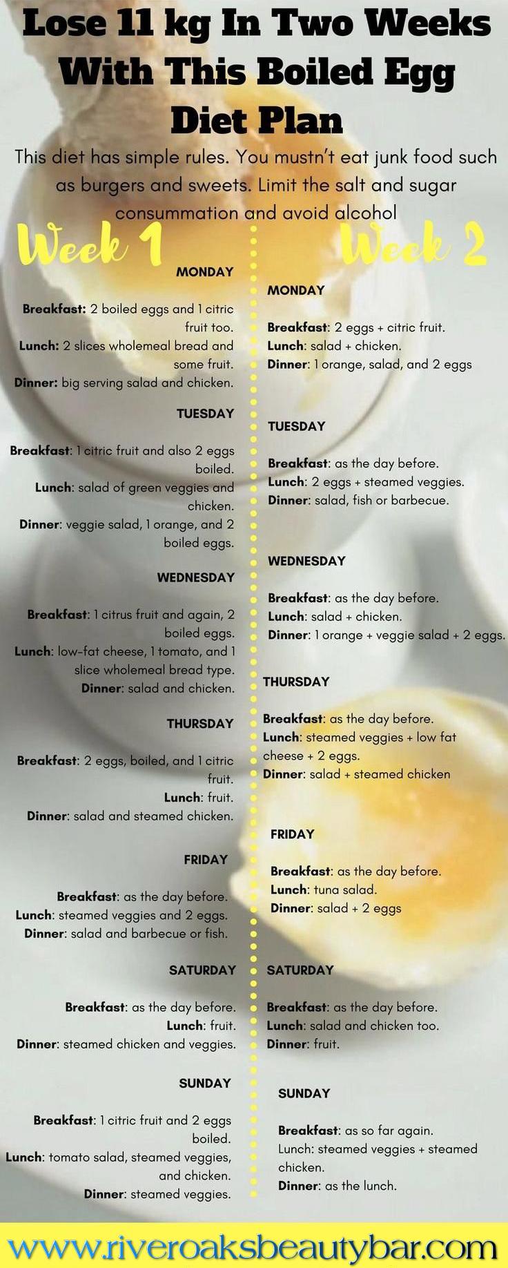 best 2 week diet