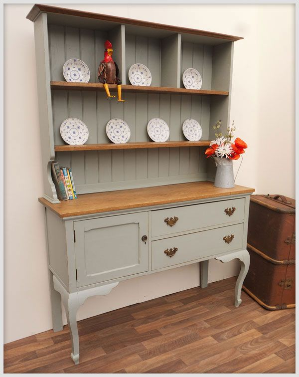 Edwardian painted dresser.