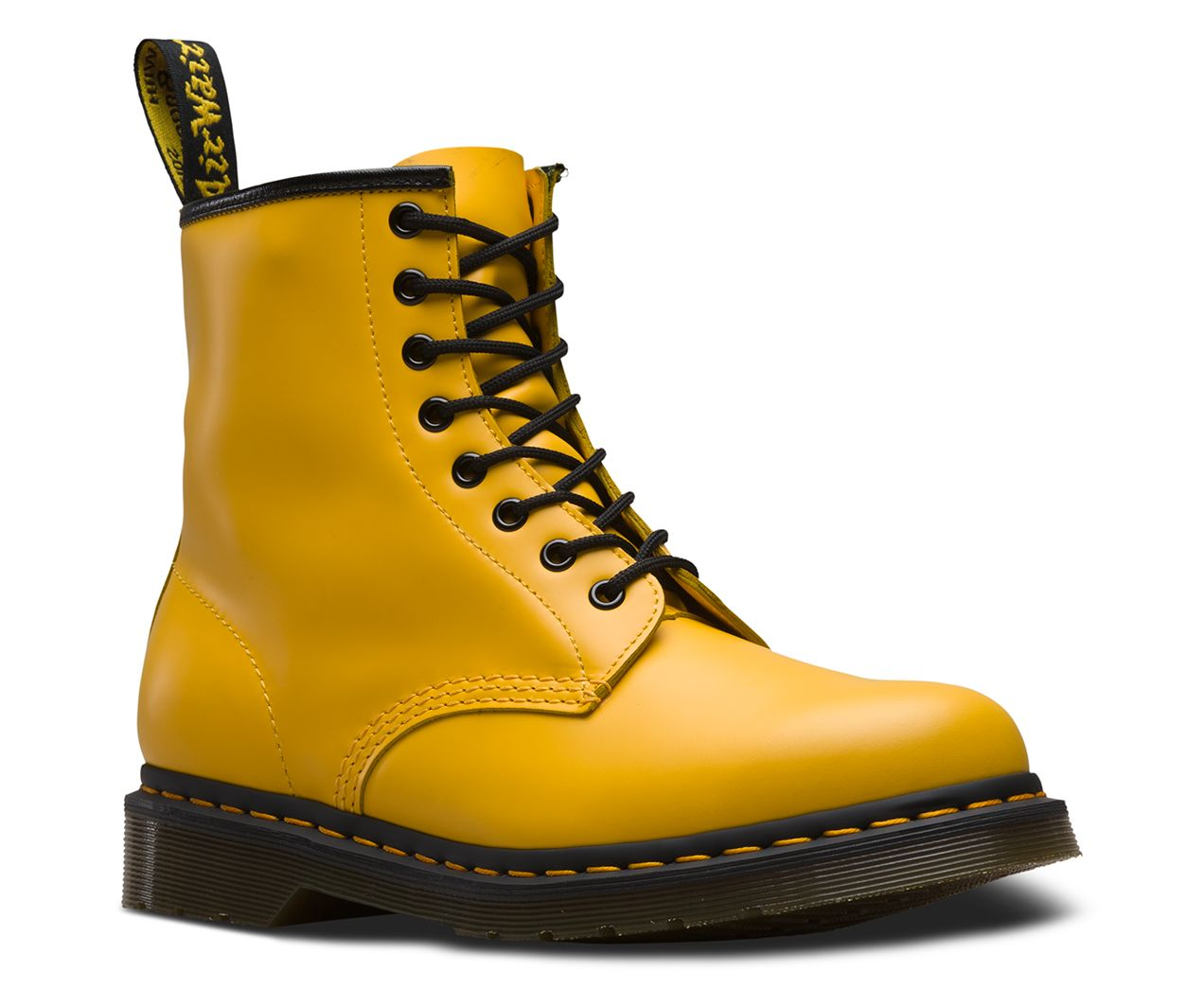 Dr Martens 1460 Smooth Leather Lace Up Boots Leather Lace Up