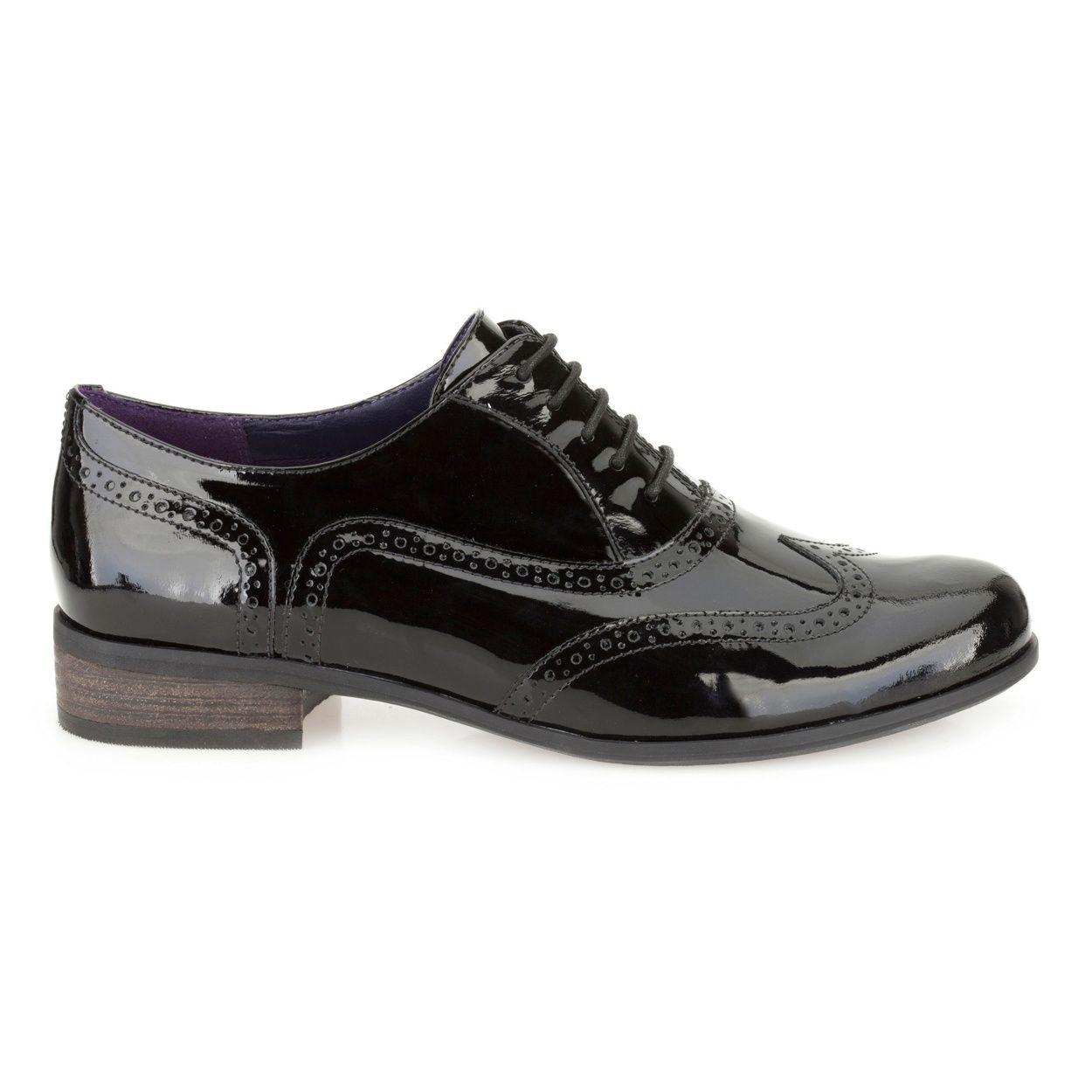 Clarks Black 'Hamble Oak' leather