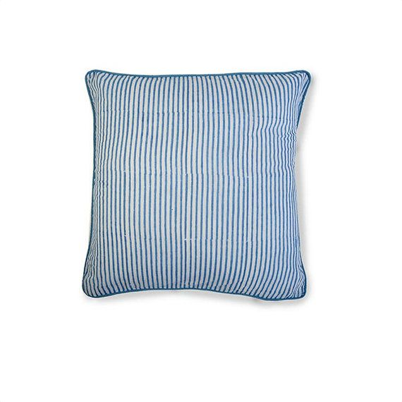 STRIPY  Luxury Handcrafted Muslin Cotton by whitejasminebedding