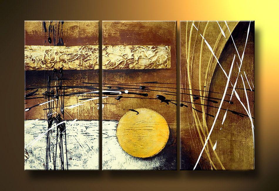 Cuadros Abstractos Modernos En Acrilico Texturados Relieves - Cuadros-modernos-con-relieve