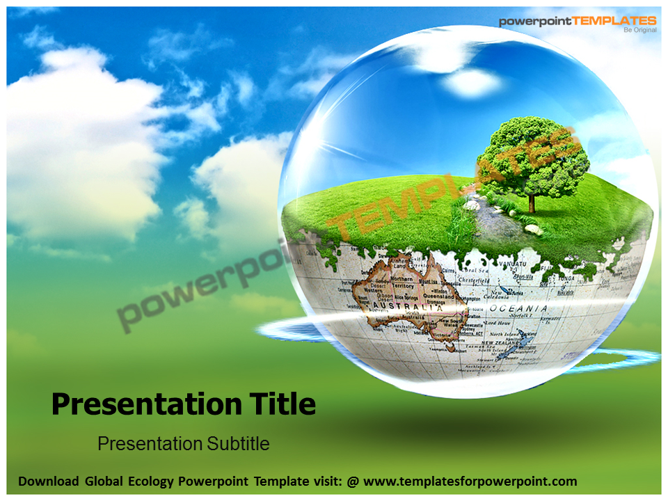 Download global ecology powerpoint template visit www download global ecology powerpoint template visit templatesforpowerpointpowerpoint toneelgroepblik Images