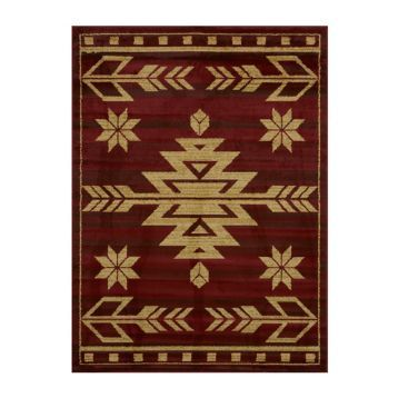 Red Teton Area Rug, 5x7 | Kirklands | United weavers of ... on Kirkland's Spin To Win Iphone id=48141