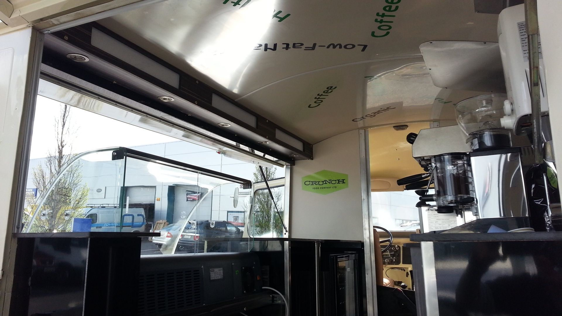 Pin Na Food Truck Citroen Hy Amp Co Mobile Caffee
