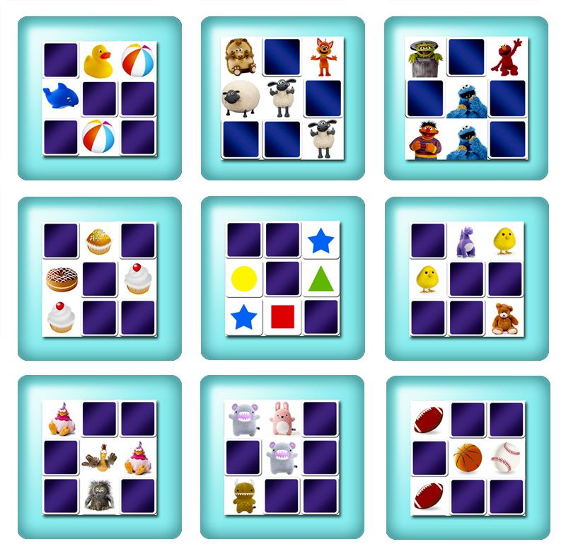 Free online memory games for toddlers Toddler games