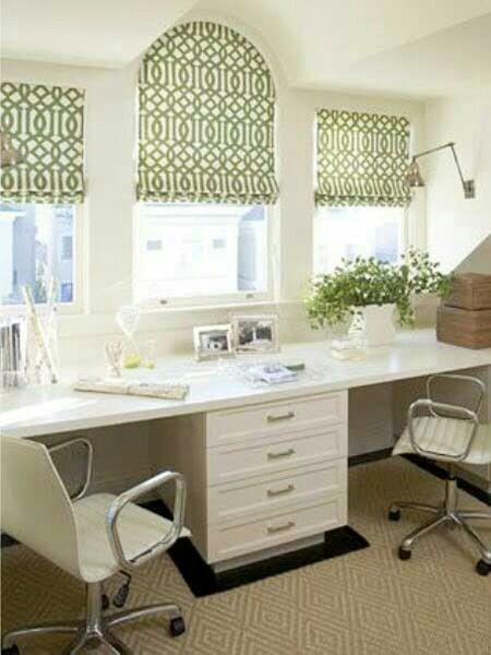 home office like it inside a house pinterest bureau rangement bureau et espaces bureau. Black Bedroom Furniture Sets. Home Design Ideas