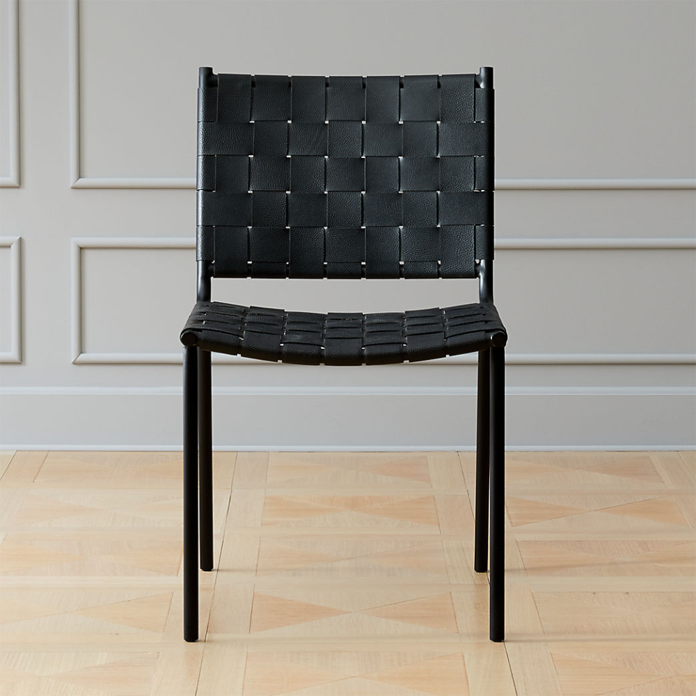 Modern Dining Chairs Accent Cafe And Kitchen Chairs Cb2 Black Leather Dining Chairs Leather Dining Chairs Dining Chairs