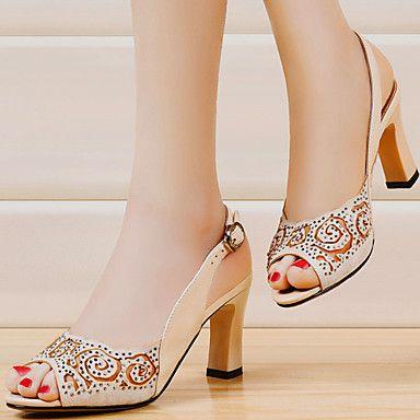 Summer Womens Chunky Heel Platform Wedge Sandals Shoes Pumps Peep Toe Buckle Strap Ladies Office Career Sandals