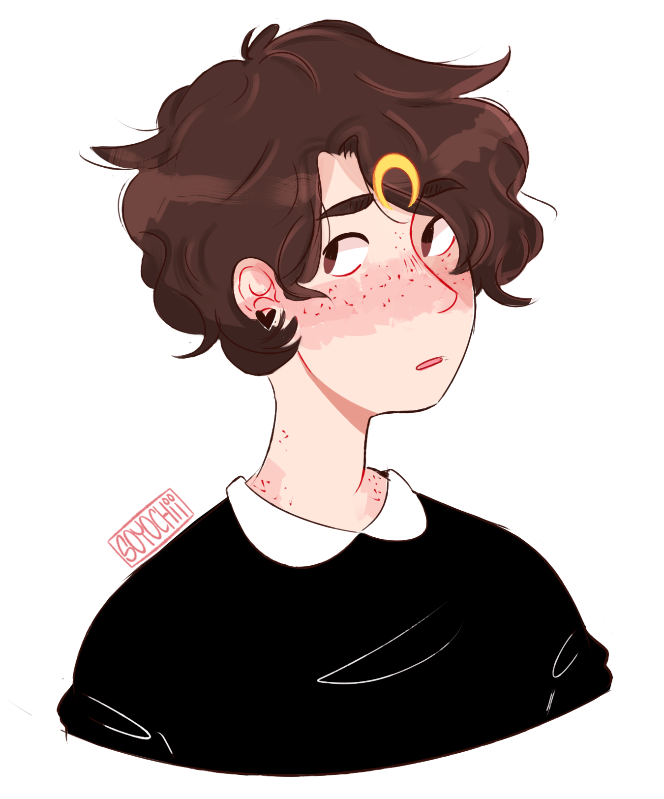 """""""Ellie"""" my part on an art trade w/ tinycocos your oc is v"""