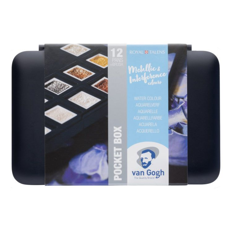 Van Gogh Pocket Box Metallic Interference Colours Van Gogh
