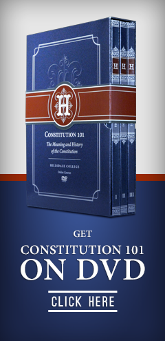 Constitution 101 DVD Box Set Constitution, Hillsdale