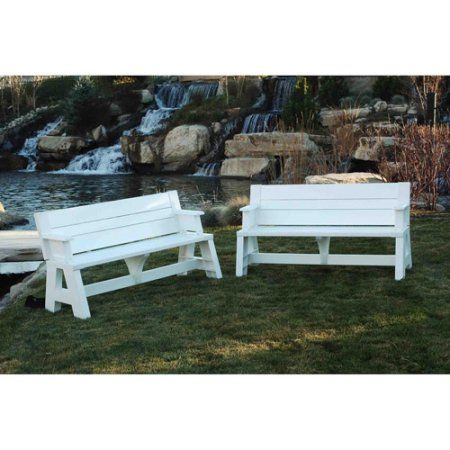 Convert A Bench Plastic Folding Picnic Table Bench Multiple Colors Walmart Com Convert A Bench Picnic Table Bench Folding Picnic Table Bench
