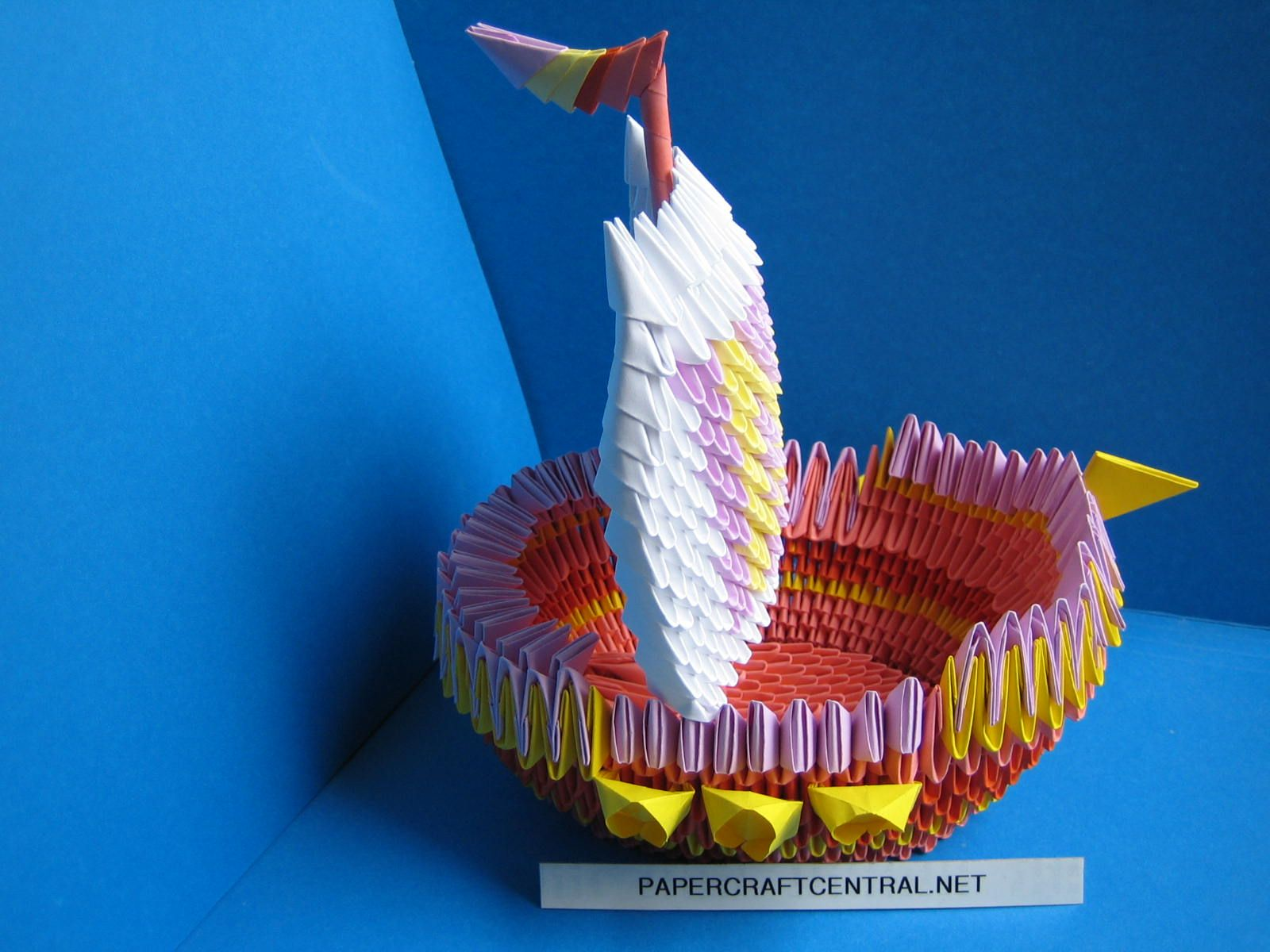 3d origami boat origami pinterest - Origami para todos ...