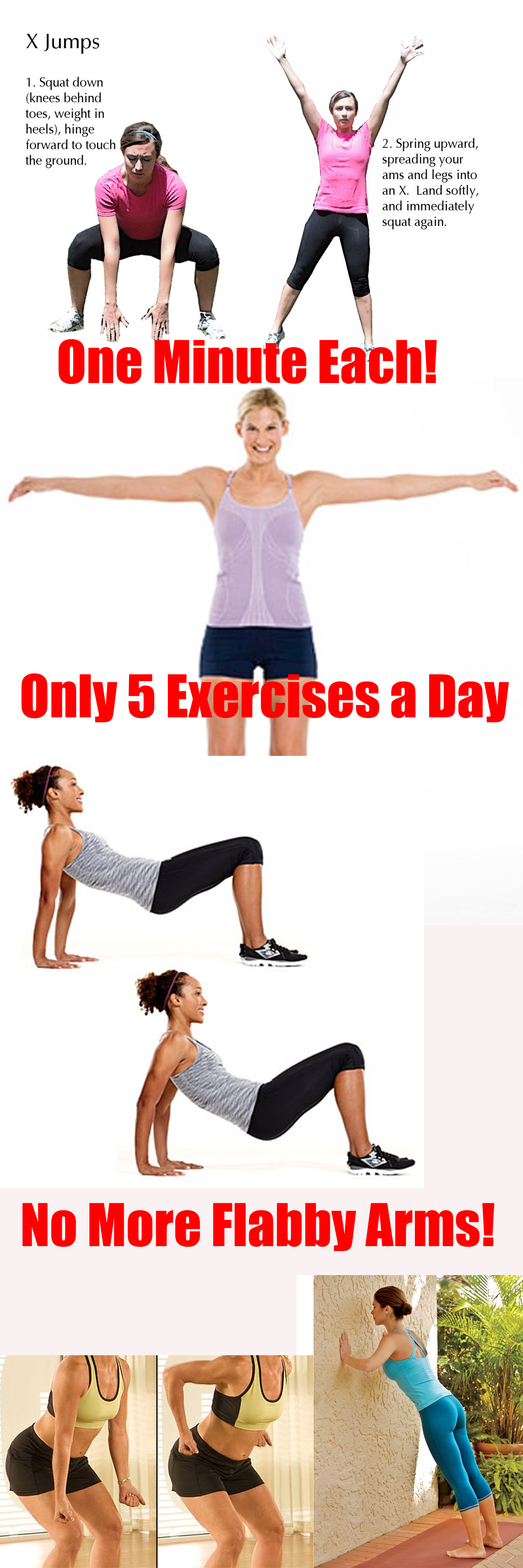 10 Best Home Exercises To Get Rid Of Flabby Arms | Tone up ...