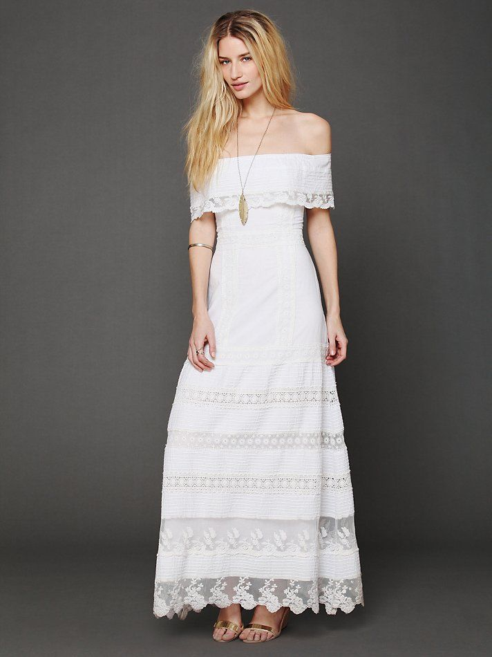 Free People Looks Like An Angel Maxi Dress, $352.00 Pretty Dress for ...