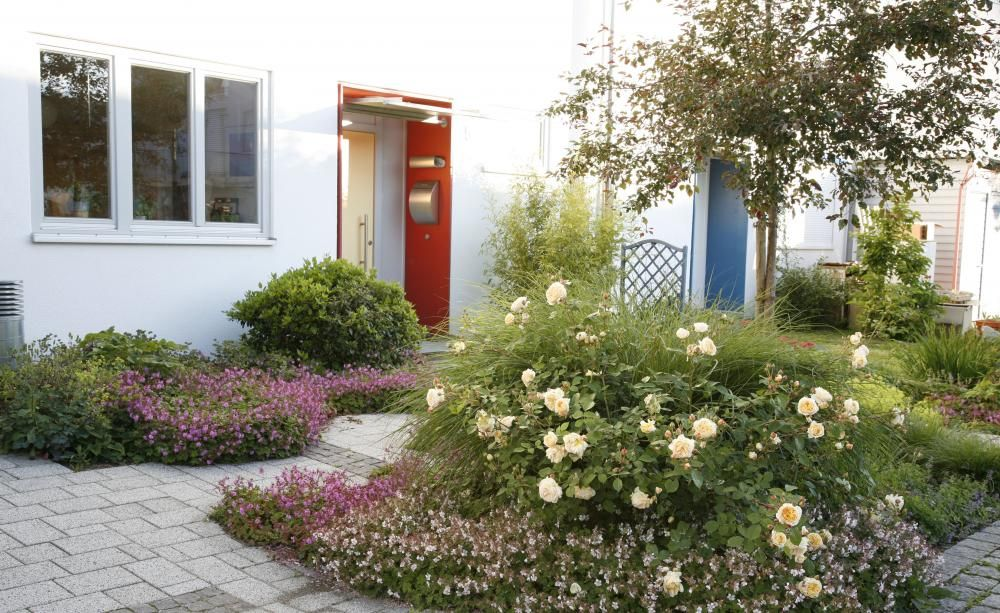 Vorgartengestaltung 40 Ideen Zum Nachmachen Vorgarten Vorgarten Ideen Vorgartengestaltung