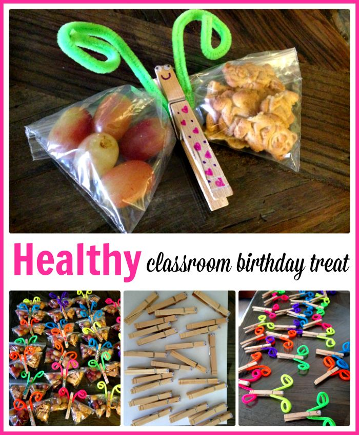 Classroom Birthday Ideas : Healthy classroom birthday treat kids recipe snacks