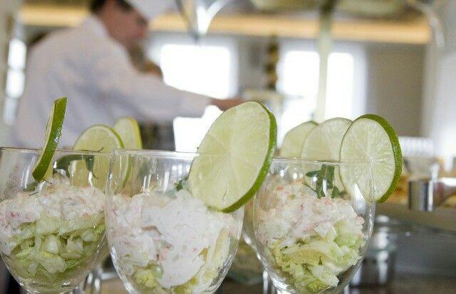 Shrimp salad @ Club Lounge